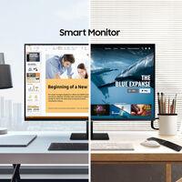 Samsung M7 y M5: dos monitores con Tizen OS, NFC, Wi-Fi, Bluetooth... que pueden realizar casi cualquier tarea