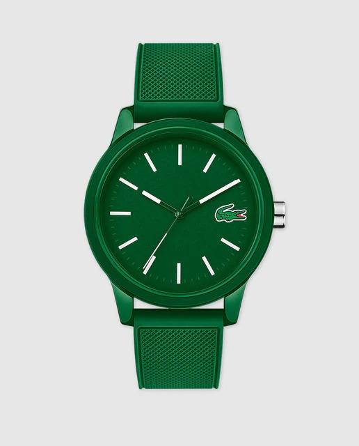 Reloj de hombre Lacoste Watches 12.12 2010985 de silicona verde