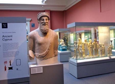 Chipre en el Museo Británico