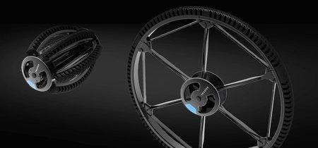Esta rueda de 26 pulgadas es plegable, no tiene cámara y quiere revolucionar el mercado de las bicis que se doblan