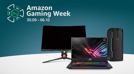 Las mejores ofertas de la Semana Gaming de Amazon: portátiles, monitores o periféricos a precios rebajados