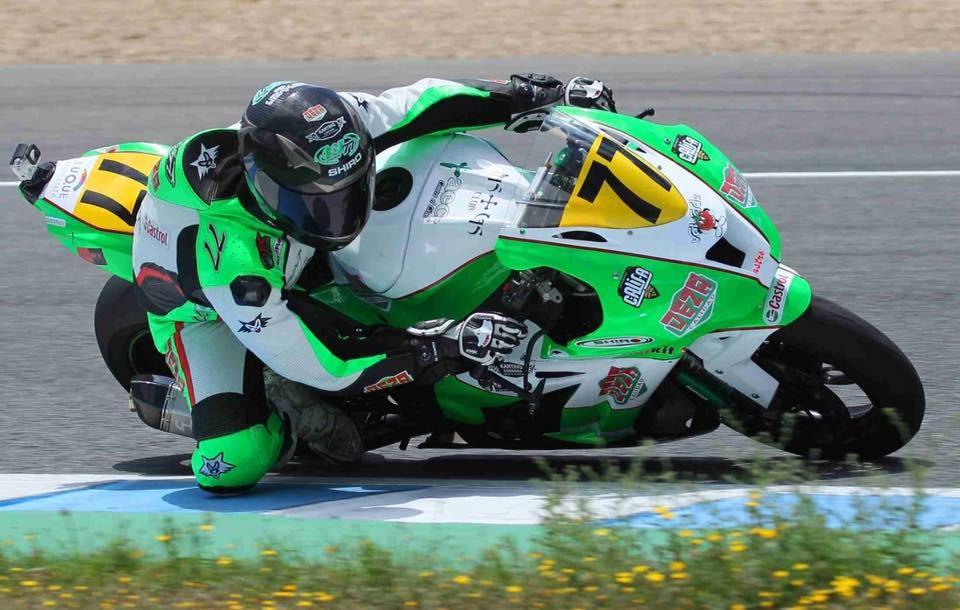 Andrea Sibaja Supersport 300