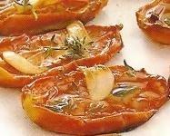 Tomates de pera al horno