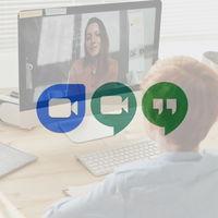 Comparativa de Hangouts, Meet y Duo: qué ofrece y para qué es mejor cada servicio de videollamadas de Google