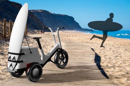 Bicicleta Electrica Bmw Dynamic Cargo Concept Tabla Surf