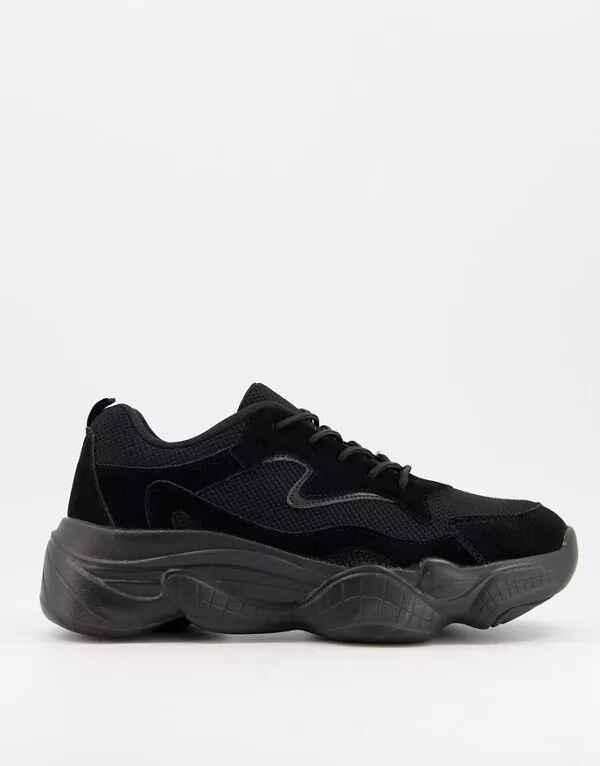 Zapatillas negras estilo 'Dad' de Truffle Collection