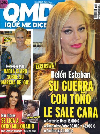 Belén Esteban sigue dando titulares