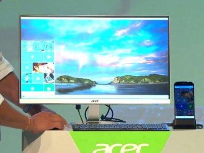 Acer Jade Primo vendrá con Continuum incluido: teclado, ratón y base
