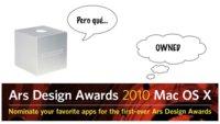 Ars Design Awards, la respuesta al abandono de las aplicaciones de Mac OS X en los Apple Design Awards