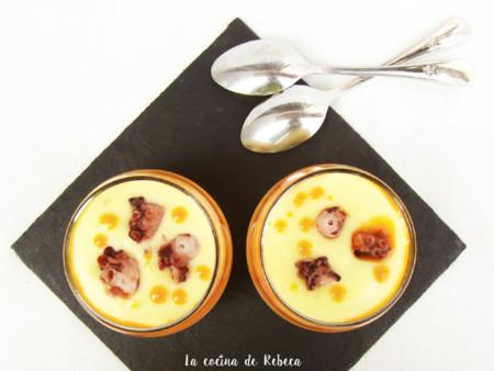 Crema De Patata Al Pimenton Con Pulpo 01b