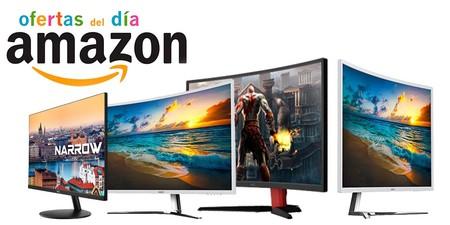 Ofertas del día en monitores HKC en Amazon