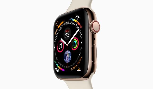 Apple Watch Series 4: pantalla más grande en el mismo diseño y muchas novedades para el cuidado de la salud