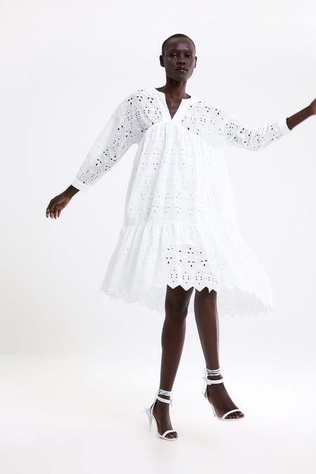 Zara Blanco Verano 2019 13