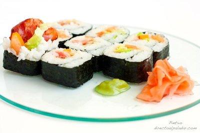 Receta de sushi BLT