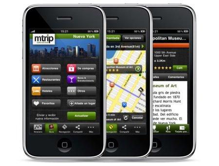MTrip, completas guías de viaje sin roaming para IOS y Android