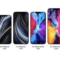 iPhone 12, 12 Mini, 12 Pro y 12 Pro Max: se filtran los precios de los cuatro smartphones de Apple días antes de su presentación