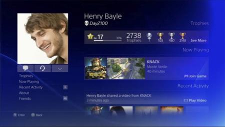 Interfaz PS4
