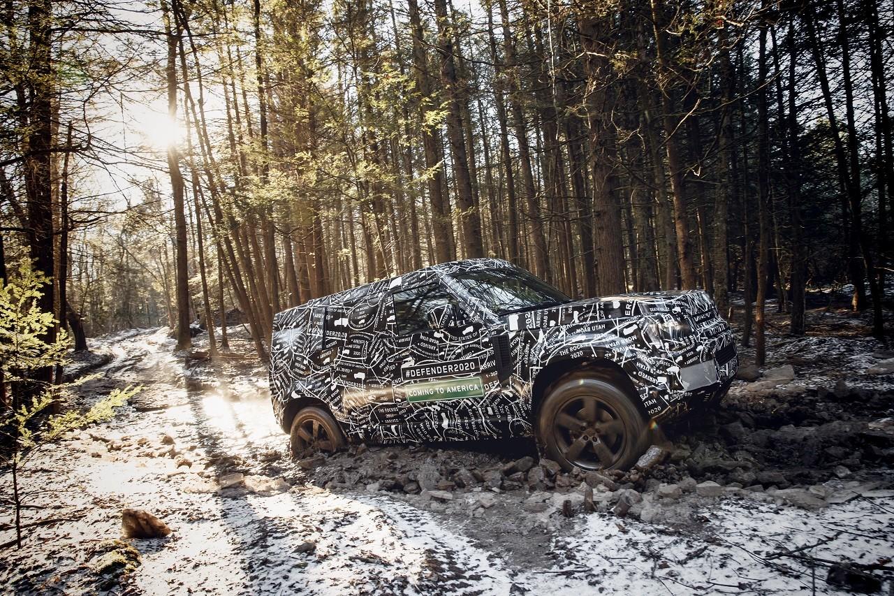 Foto de Land Rover Defender 2020 primeras fotos oficiales (8/24)