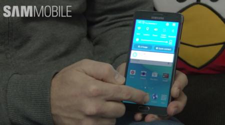 Note 4 también tiene Lollipop casi a punto y se deja ver en vídeo