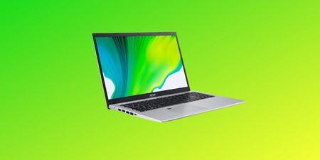 El portátil más vendido de Amazon es el moderno y equilibrado Acer Aspire 5 con 16GB de RAM y Core i5 de 11º generación a 629 euros