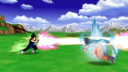 Dragon Ball Z: Shin Budokai de PSP, primeras capturas