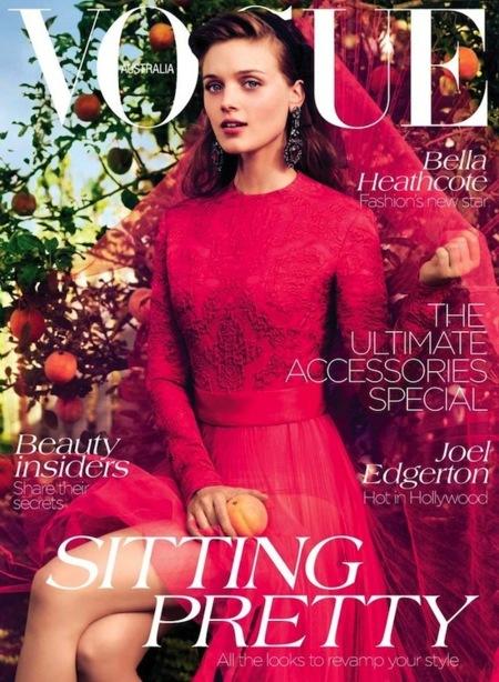 Harper's Bazaar nos presenta un September Issue a la altura y Vogue unas portadas románticas