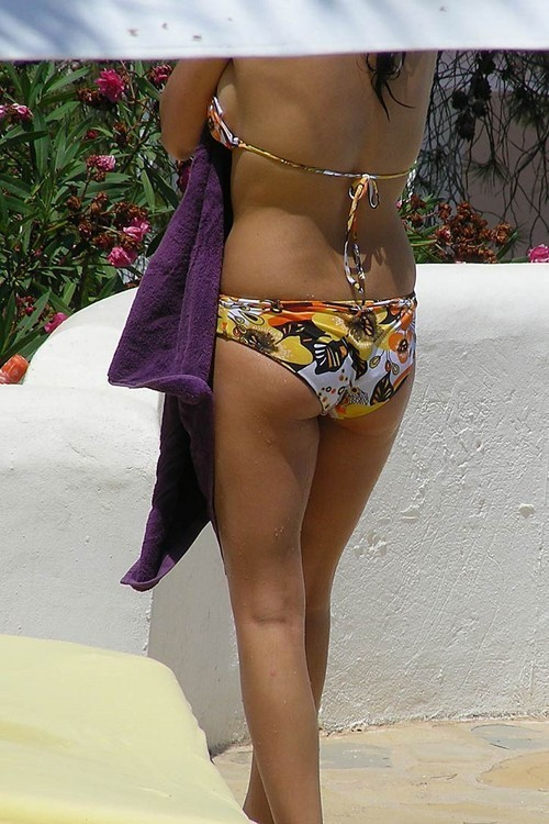 3 of 3 candid bikini butt ass tits tanning pool side bff039s 3