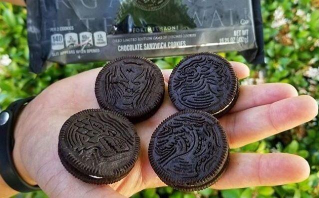 Oreo lanza las galletas de Juego de tronos, pero hay más productos especiales para fans de la serie