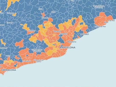 Del cinturón rojo al cinturón naranja: así se ha adueñado Ciudadanos de los barrios obreros catalanes