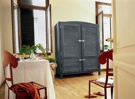 Refrigeradores de estilo vintage para los que tienen la nevera en el salón
