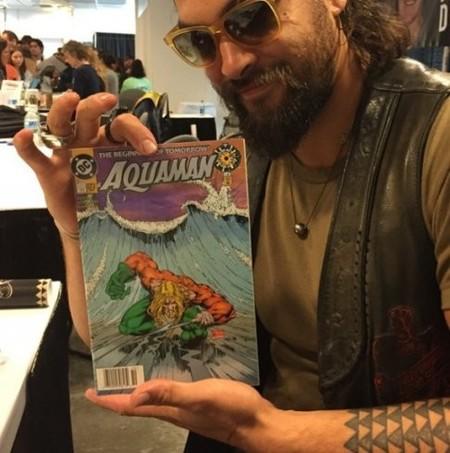 Jason Momoa confirma que será Aquaman
