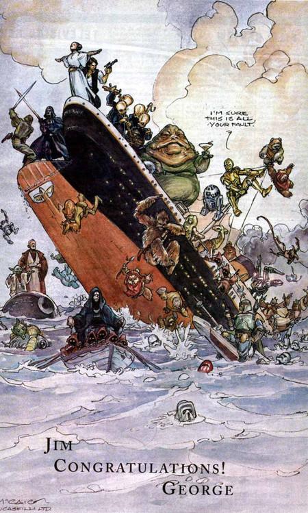 Felicitación Titanic