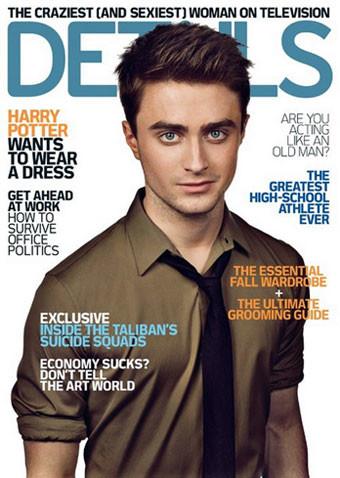 Daniel Radcliffe se confiesa en la revista Details