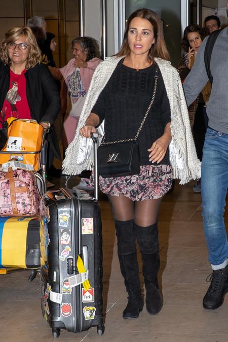 paula echevarria look aeropuerto