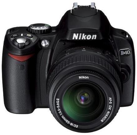 Nikon D40 ya lista