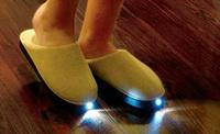 Complementos tontos para el hogar inteligente: zapatillas con LEDs incorporados