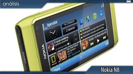 Nokia N8 como consola portátil. Análisis