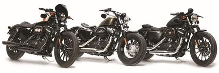 Harley Davidson Iron 883 Quarter Mile, Forty-Eight Sweet Seventies y Iron 883 Dark Edition, buscando ser diferente