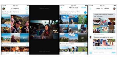 Dropbox ha lanzado Carousel, una aplicación muy atractiva para administrar nuestras fotos