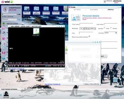 Wixi, almacenamiento, red social y escritorio online en una misma aplicación