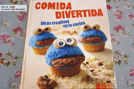 Comida divertida, ideas creativas en la cocina. Libro de recetas