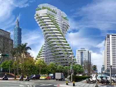 """En Taiwán están construyendo un edificio que se """"come"""" la contaminación y estará listo en septiembre"""
