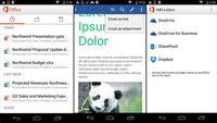 Office para móviles Android se actualiza integrando el anunciado soporte para Dropbox