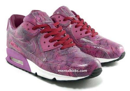 Nike Air Max 90 snake purple