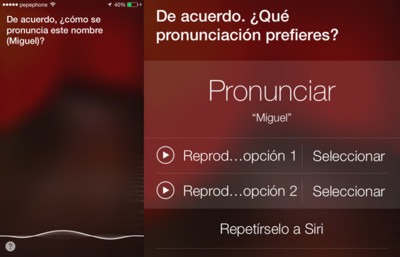 Las nuevas voces de Siri en iOS 7 y su capacidad para entendernos mejor y aprender a pronunciar