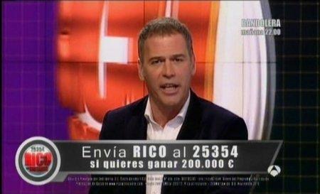 Multa por el envío masivo de SMS que invitaban a participar en un concurso de Antena 3