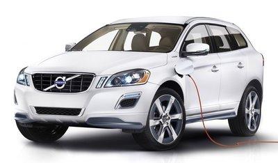 Volvo XC60 Plug-in Hybrid Concept, un híbrido de gasolina... SUV