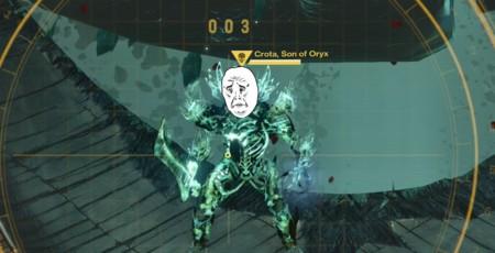 Jugador de Destiny humilla a Crota, el hijo de Oryx, usando solo la batería de Rock Band