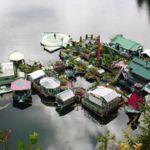Este matrimonio construyó su propia isla y llevan un cuarto de siglo viviendo en ella