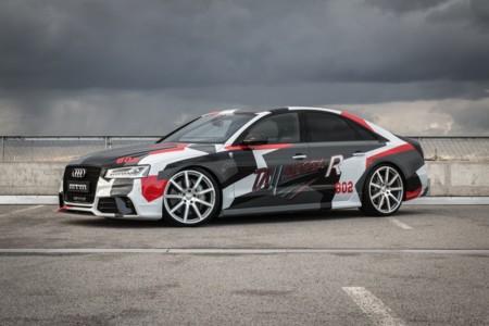 Audi S8 MTM Talladega R, a 350 km/h por el Salón de Ginebra